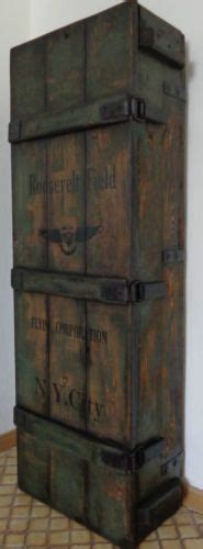 schrank industrial aviator trunk industrial loft design hausbar schrank regal