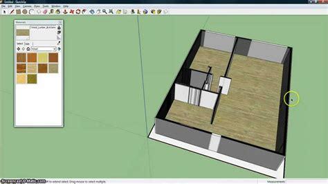 google sketchup tutorial nederlands plattegrond 3d maken met sketchup