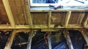 how would you fix this subfloor wall mobilehomerepair