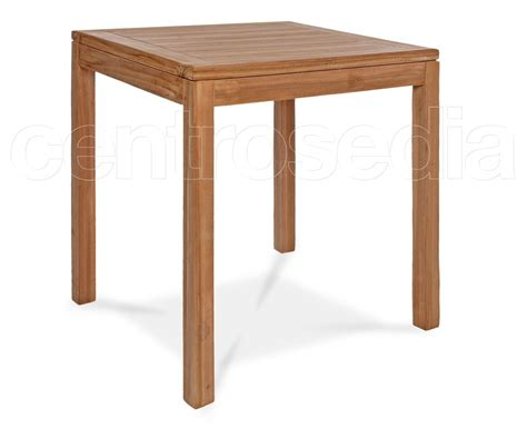 tavoli teak ekos tavolo quadrato in legno di teak tavoli legno teak