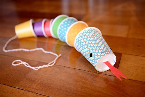Paper Snake Craft - snake craft idea for preschool and kindergarten