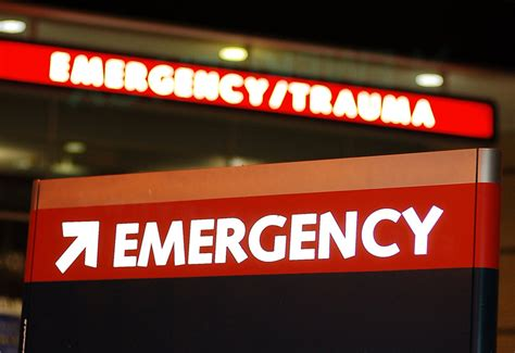Emergency Room Signage by No Plan B For Colored Who Pursue Holistic