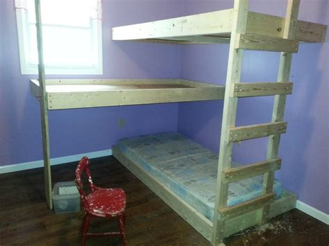 Easy To Build Bunk Beds Diy Bunk Bed The Owner Builder Network