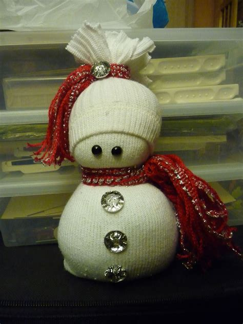 hometalk sock snowmen or snow babies as i like to call them