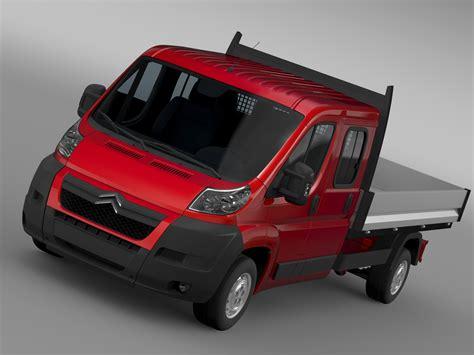 Citroen Jumper 2020 by Citroen Jumper Crew Cab Truck 2009 2014 3d Model Vehicles