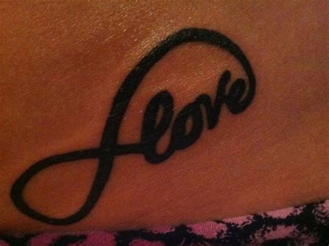 infinity tattoo on hip infinity tattoo images designs