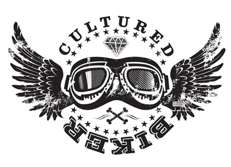 graphic regime cultured biker motorcycle apparel portfolio