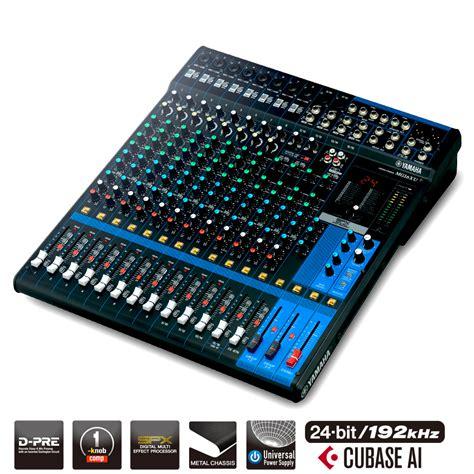 Mixer Yamaha Usb yamaha mg16xu 16 channel mixer w usb output fx pro
