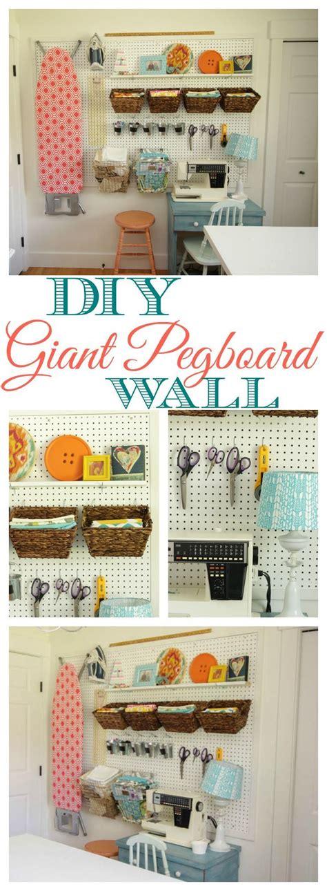 diy craft room storage 25 best ideas about pegboard craft room on craft room organizing sewing office