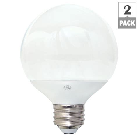 Led Light Bulb Equivalent Ge 40w Equivalent Soft White G25 Globe Dimmable Led Light Bulb 2 Pack Led5dg25 W3 Tp2p The