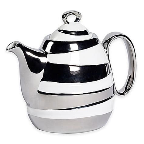 bed bath and beyond teapot studio tu 174 by tabletops unlimited 174 sterling 37 oz teapot