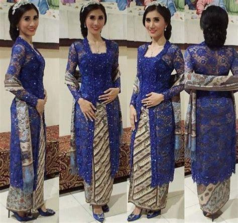 Batwing Brukat model kebaya kutu baru brokat untuk wanita modern kebaya