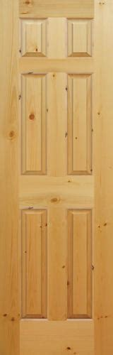 6 Panel Knotty Pine Interior Doors Mastercraft Knotty Pine Raised 6 Panel Interior Door Only At Menards 174