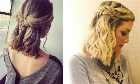 recogidos para pelo corto trenzas para cabello corto 10 ideas de peinados para copiar