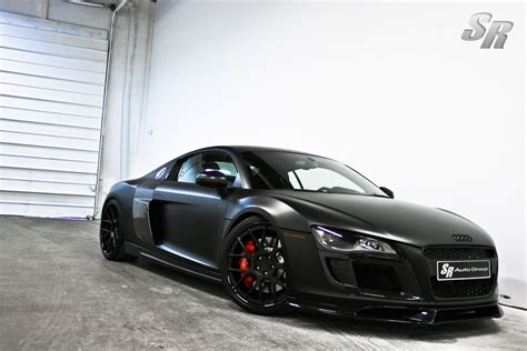 audi r8 matte black audi r8 black matte by sr auto group news4cars