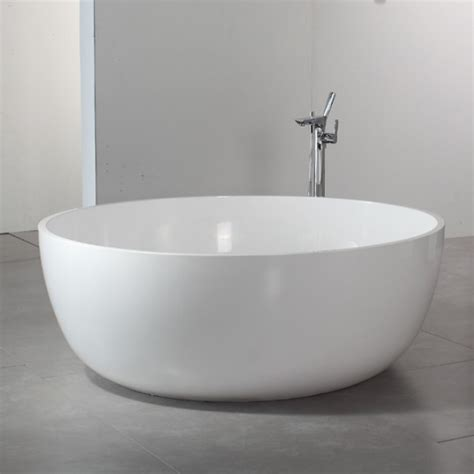 stone resin bathtub round artificial stone bathtub round stone resin bathtubs