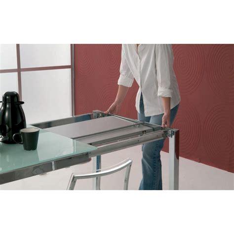 tavolo mago bontempi casa tavolo mago allungabile 100x70 cristallo