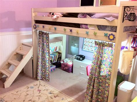 ana white loft bed diy loft bed with storage stairs sab ratt