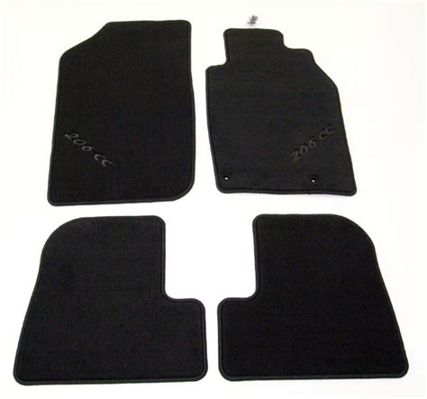 Karpet Peugeot 206 peugeot 206 luxury carpet mats cc coupe cabriolet