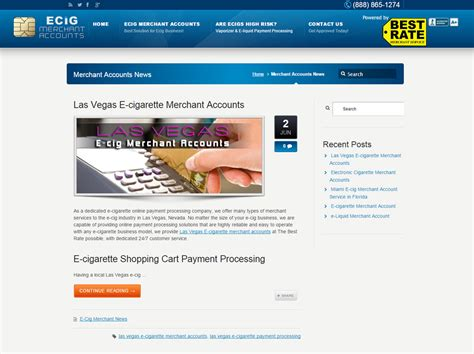 blog archive layout financial services website by fort lauderdale web design