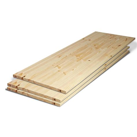 solid redwood pine 27mm furniture board at leader stores - Furniture Board