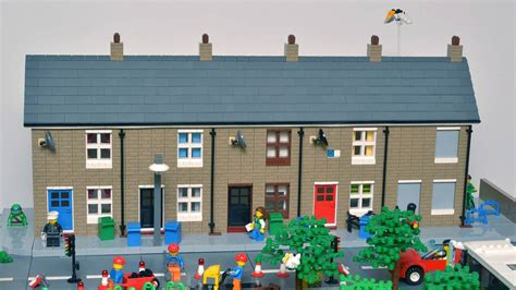 Flat House Design by Interview With Huw Millington Brickton A Moc Lego City