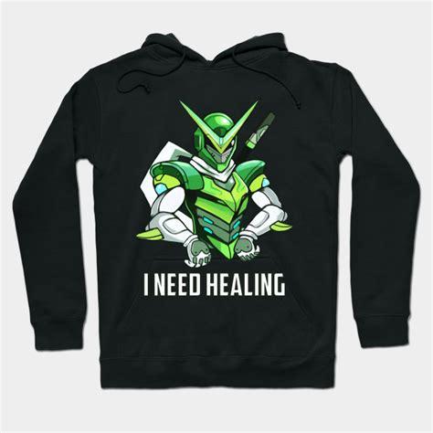Jaket Sweater Overwatch I Will Protect genji sentai genji hoodie teepublic