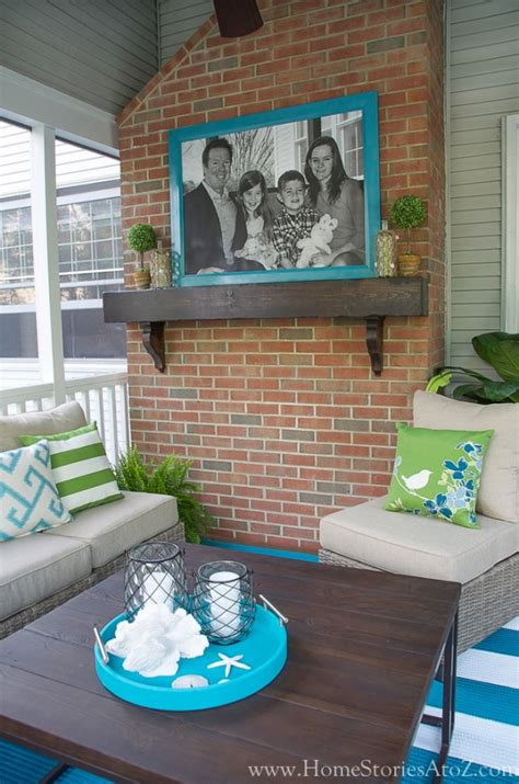 outdoor decorating ideas lowe s screen porch and deck makeover reveal
