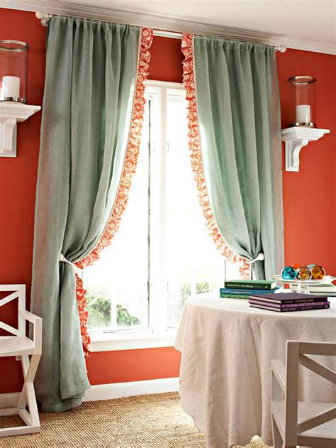 cottage curtains window treatments creative window treatment ideas househoneys com
