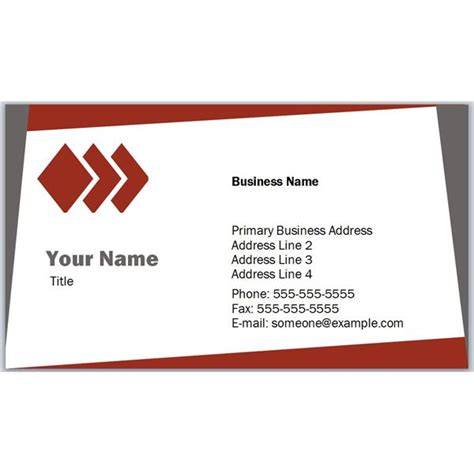 business card layout template best photos of sle business card template free