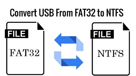 format fat32 to ntfs without losing data how to convert usb flash from fat32 to ntfs without losing