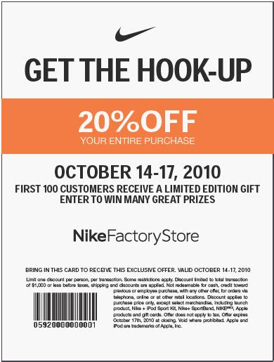 printable outlet mall coupons nike outlet coupon