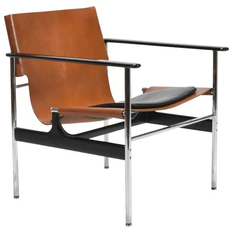 knoll pollock chair charles pollock model 657 sling lounge chair by knoll at
