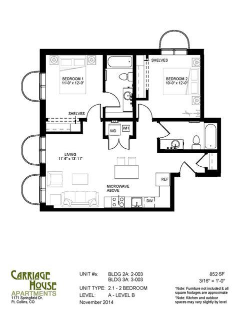 Carriage House Las Vegas Floor Plans