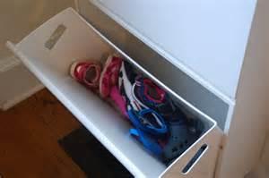 ikea shoe bin lisa moves great idea ikea recycling bins for shoes