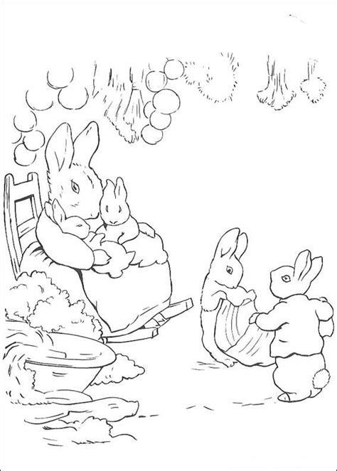 runaway bunny coloring page kleurplaten en zo 187 kleurplaat van pieter konijn