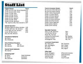 staff phone list template staff contact list template staff list template free