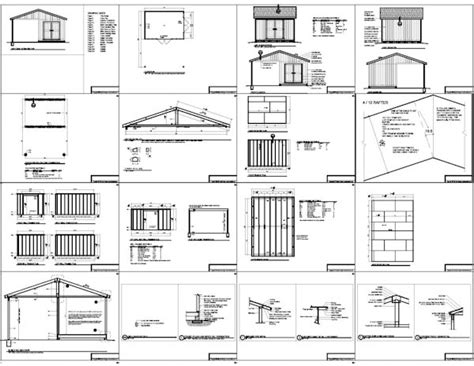 Shed Plans 10 X 14 by Great Free 10x14 Gable Shed Plans Haddi