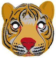 printable mask of a tiger tiger costume wiki