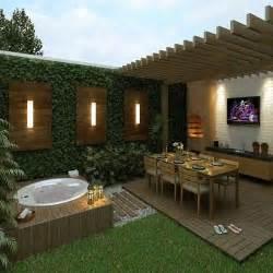 Small Backyard Gazebo Ideas - deck com churrasqueira pesquisa google paisagismo e decora 231 227 o pinterest backyards