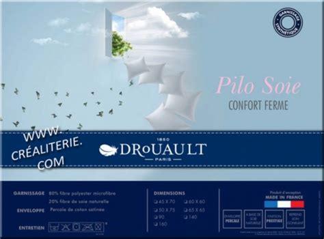 Oreillers Drouault by Oreiller Drouault Pilo Soie Fibre De Soie Naturelle