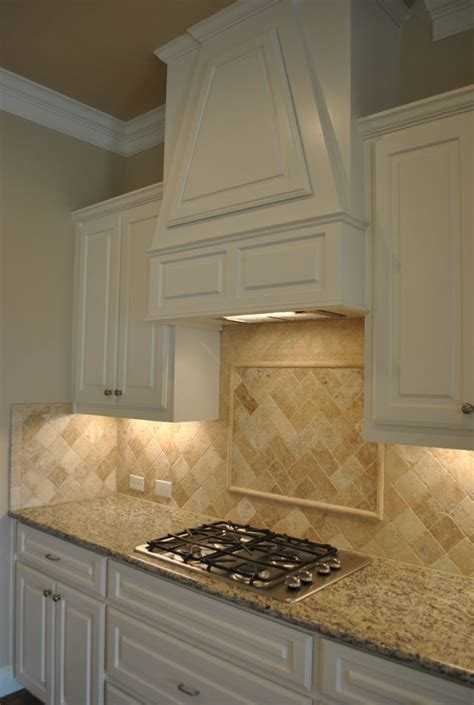 tumbled marble kitchen backsplash home sweet home