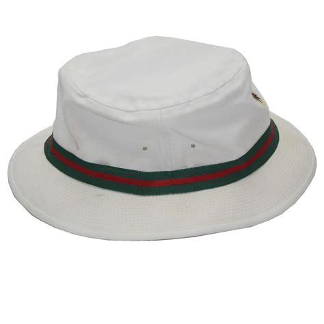 lot detail seminole golf club white bucket hat