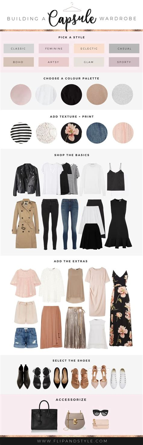 Build A Capsule Wardrobe by 16 Visual Guides Every Needs To Find Their Personal