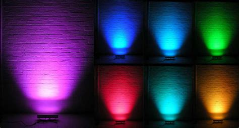24 Volt Led Lights Led Wall Washer 24 Volt 12x1w Rgb Dmx Buyledstrip Com