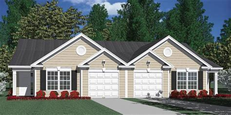 southern heritage home designs duplex plan 1261 a southern heritage home designs duplex plan 1196 a