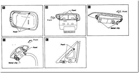 car maintenance manuals 1997 infiniti q spare parts catalogs service manual 1997 infiniti j door window removal 1997 infiniti q trim removal window