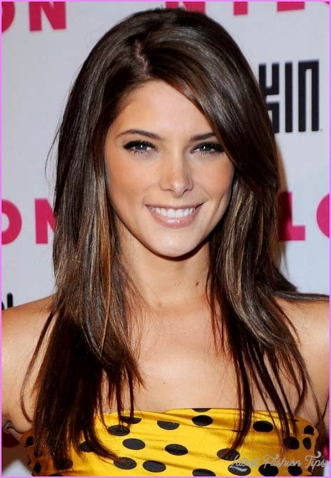 layered haircuts for medium length hair with side swept bangs straight medium length haircuts with layers