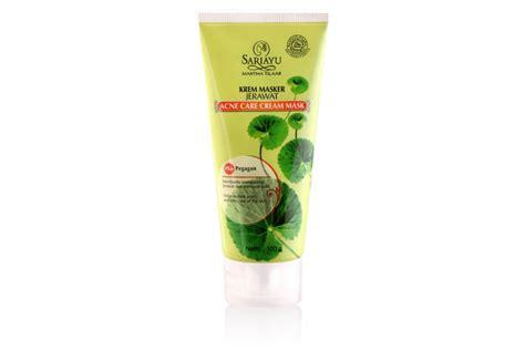 Masker Sariayu Untuk Kulit Berjerawat rekomendasi masker wajah dari brand lokal untuk kulit