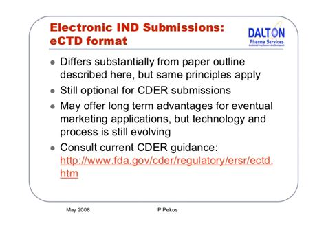 ind template preparing an ind application cmc